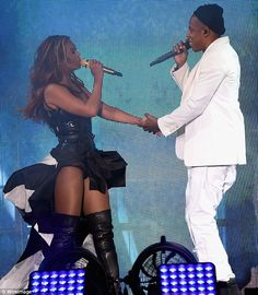 Doubleact: Beyonce and Jay Z are currently performing together for their On The Run tour...