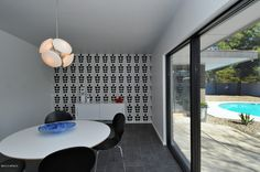 Al Beadle mid-century modern home with luxury finishes, timeless palette & refined spaces