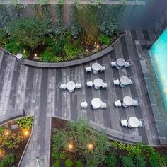 As part of the ongoing East Side Access project, the MTA has opened a new public pocket park in East Midtown. Urban Landscape, Landscape Design, Poket Park, Glass Waterfall, Plaza Design, Washington Square Park, Urban Park, Concrete Jungle, Private Garden