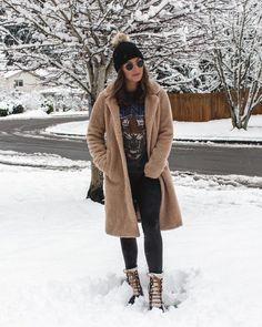 Winter Style // Cozy with fleece.