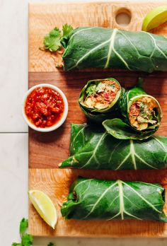 FRESH Raw Vegan Burritos with Vegan Taco Meat, avocado, and Vegan Queso! 30 minutes, 8 ingredients, BIG flavor! #vegan #glutenfree #mexicanfood #recipe #burrito #minimalistbaker