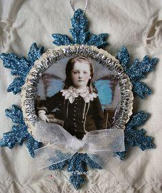 Snowflake Ornament by Nancy Maxwell James