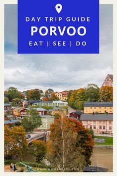 The ultimate day trip guide to one of the Finland's six medieval cities Porvoo. A guide to the best Finnish food in Old Town things to do and the best shopping in town. Located just 30 miles outside Helsinki Porvoo is the perfect day trip. Europe Travel Tips, Travel Guides, Traveling Europe, Travelling, European Destination, European Travel, Finland Travel, City Break, Adventure Travel