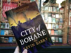 Spotted: Last copy of Kevin Barry's City of Bohane! // Three Lives Bookstore, New York City // March 27, 2012 // submitted by Twitter follower @venetianblonde