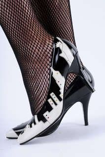 The City Lights Skyscraper Heels are a Blast from the Past #shoes trendhunter.com