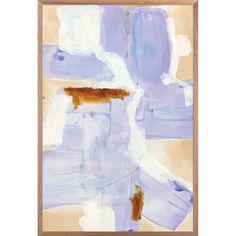 "Artist: ZBC HouseImage Size: 40""x 60""735W / Square Walnut + White SetbackCompleted Size: 42.5"" x 62.5""Acrylic Paint + Gloss Gel"