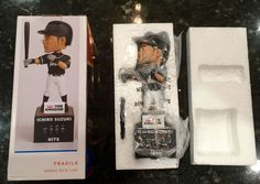Ichiro Suzuki 2016 Limited Edition Miami Marlins Bobblehead Hit Counter NIB New