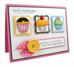 Triple Cupcake by Taylor VanBruggen