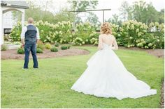 First Look! Photo by Brook Waldroup Photography