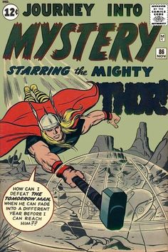 Journey Into Mystery 86. Thor meets Zarrko the Tomorrow Man. #JourneyIntoMystery #Thor #Zarrko