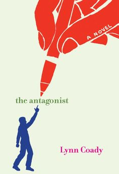 Chip Kidd Book Jacket Cover - Lynn Coady The Antagonist a Novel Book
