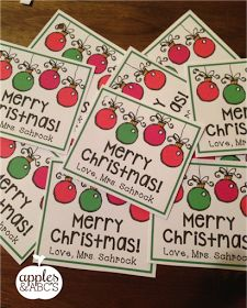Freebielicious: Christmas Tag Freebie