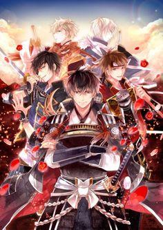 ゲームアプリ「イケメン戦国◆時をかける恋」キービジュアル (c)2015 CYBIRD