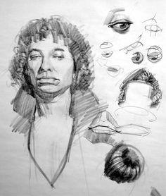"Anatomy Studies Demo: ""Figure Studies"" - Page 2 Human Figures"