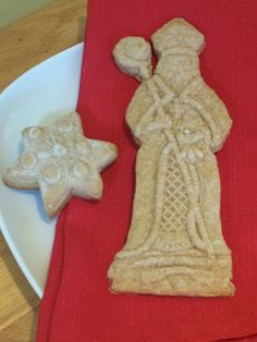recipe for Dutch Speculaas Cookies for Saint Nicholas Day