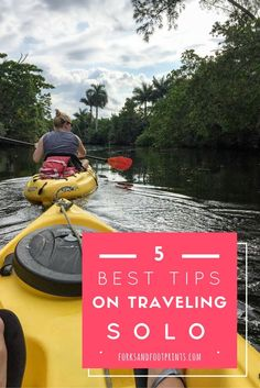 Traveling solo as a female has a slew of challenges but it is also one of the most rewarding experiences. Use these key tips from a seasoned solo traveler to make your trip memorable!   http://ForksAndFootprints.com