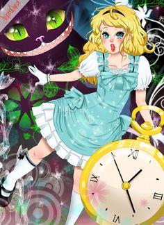 Alice in Wonderland by nanacoopa on deviantART