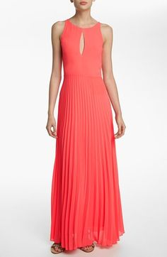 Like Mynded Pleated Maxi Dress available at #Nordstrom