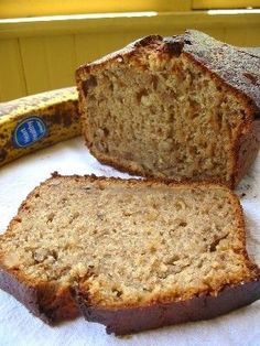 Best Low Sodium Banana Bread EVER! The Daily Dish. might add choco chips for lil somin somin Low Sodium Desserts, Low Sodium Snacks, No Sodium Foods, Low Sodium Diet, Low Salt Desserts, Low Carb, Dash Diet Recipes, Gourmet Recipes, Cooking Recipes