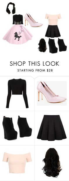 """""""before and after"""" by fashion41323 ❤ liked on Polyvore featuring Proenza Schouler, Ted Baker, Jeffrey Campbell and Miss Selfridge"""