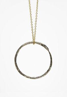 Ouroborus Necklace by Actual Pain. $90.