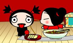 Pucca Funny Love Cool Art, Fun Art, Disney Shows, Style Challenge, Funny Love, Anime Love, Hello Kitty, Mickey Mouse, Disney Characters