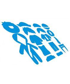Moldes para 4 Bonecos Marinheiro Alfredo, Pirata Arthur, Menino Lucas e Mocinho Marcelo + 4 Recortes em feltros Coleção Moldes Duráveis Vanessa Iaquinto