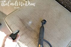 Get tips and tricks on How to Clean Patio Cushions so they look like new again! This easy tutorial requires items you already have around your home! Cheap Patio Furniture, Patio Furniture Cushions, Patio Cushions, Diy Furniture, Furniture Websites, Inexpensive Furniture, Luxury Furniture, Cleaning Checklist, Cleaning Hacks