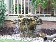 Water Fountain, Lexington, Louisville, Kentucky, Ky, created by H2O Designs using Aquascape Inc products