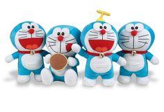 Doraemon, ogni bambino vuole un gattino...ed anche un dorayaki!! Simpaticissimi peluche