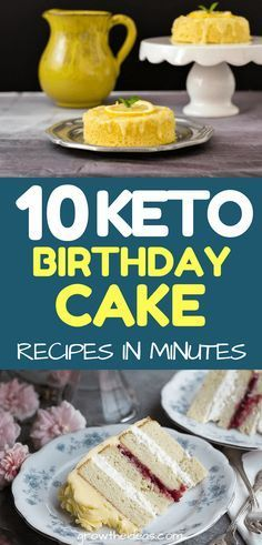 There's no such thing as a birthday without a cake! So if you're looking for something keto-friendly to serve, try any of these low-carb birthday cake recipes today.