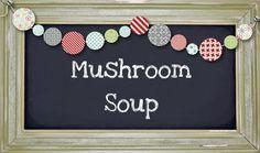 Love Beauty Fashion Etc..: Mushroom Soup  Slimming World