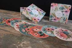 Botanical Coasters - These gorgeous floral coasters feature the signature Rifle Paper Co. botanical designs in four colors, packaged in a beautiful keepsake box. Colors include peach, rose, vintage blue and peacock blue. These make a perfect gift for the hostess on your list or would look lovely in you own home. Made in USA. $18