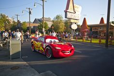 Lightning McQueen at Cars Land