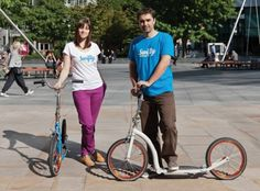 swifty scooters, jason iftakhar, camila iftakher, scooters, eco design, adult scooters, swiftyOne