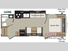 New 2014 Keystone RV Passport 245RB Express Travel Trailer at General RV | Huntley, IL | #108391