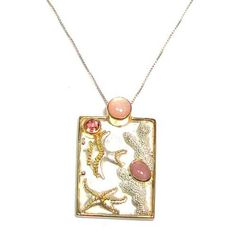 michou jewelry | MICHOU Shell Collection Sterling Silver and 22k Gold Vermeil Sea Life ...