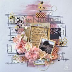 Stencil layout by educator Jamie Dougherty for Prima!