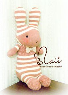 Sock bunny...so stinkin' cute!!