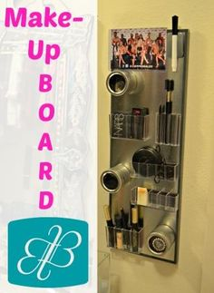 Make-Up Board - Friday Five: Organization Finds -  Beaux & Belles