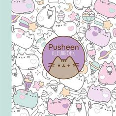 Pusheen colouring book