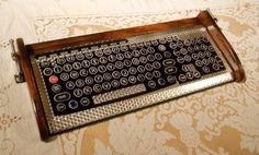 Steampunk-typewriter,  I would like one.