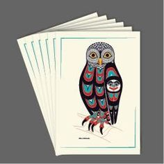 Owl Art Cards