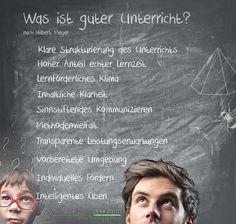 Was ist guter Unterricht? –  nach Hilbert Meyer