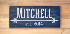 Family Name Custom Wood Signs , Mother's Day Gift, Father's Day Grandparents, Mid Century Modern Personalized Family Name Sign Gift Wedding Gifts Outdoor Last Name Wooden Plaque Christmas Wedding New Home Gift Modern