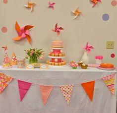 Pinwheels Birthday Party Ideas | Photo 1 of 36 | Catch My Party