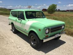 1978 Scout 2 with a 345 all original Scout with sto. - browse used International Harvester Scout Ii for sale. International Scout, International Harvester, Scout 800, Used Cars, Scouts, Trucks, Childhood Memories, Usa, Green