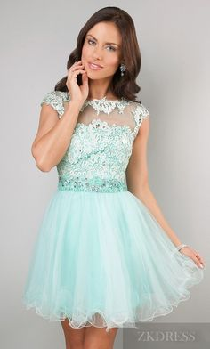 Cute Sleeveless Light Sky Blue Bateau Natural Evening Dress Sale zkdress26193