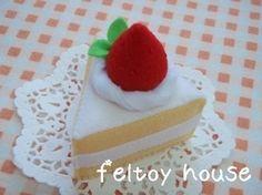 feltoy house | フェルト ケーキ|feltoy house フェルトままごと