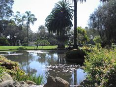 Alice Keck Park in the heart of Santa Barbara This is a family favorite for picnics and relaxation
